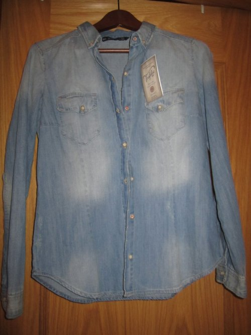 Zara Rebajas Denim Shirt