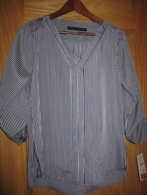 Zara Rebajas Striped Shirt