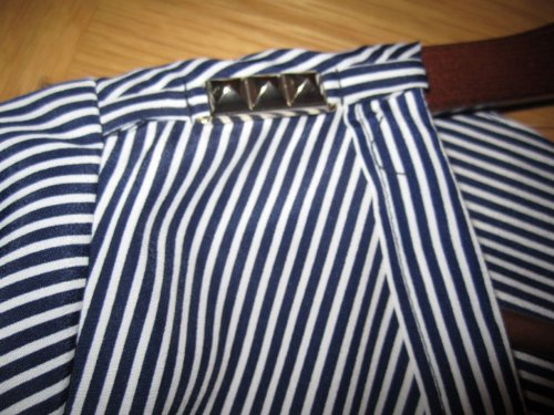 Zara Rebajas Closeup Striped Shirt