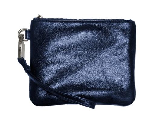 Sapphire Leather Everpurse