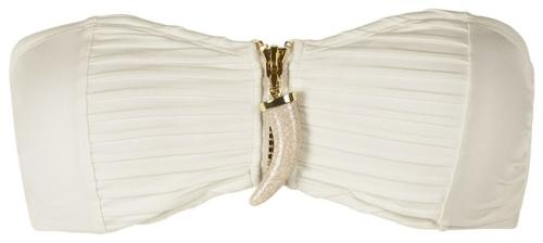White H&M Bikini top