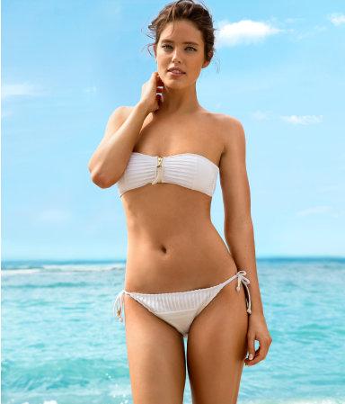 White H&M Bikini