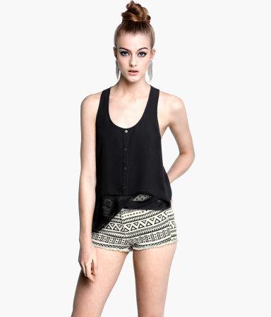 Patterned shorts HM