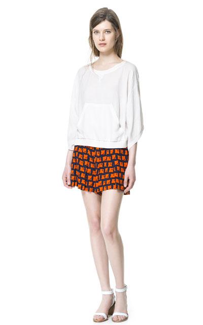 Patterned Shorts Zara 1