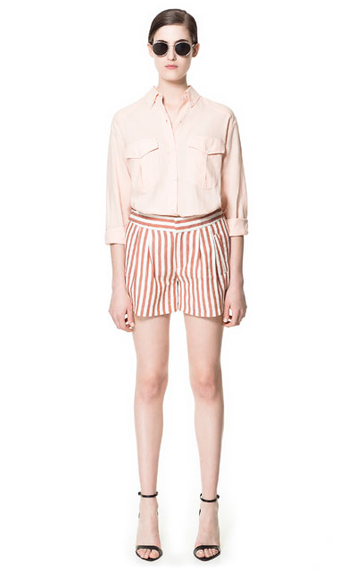 Patterned Shorts Zara 2