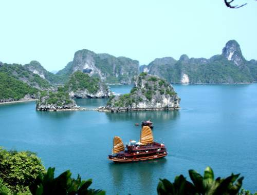 Can't wait for our cruise through Halong Bay in North Vietnam!