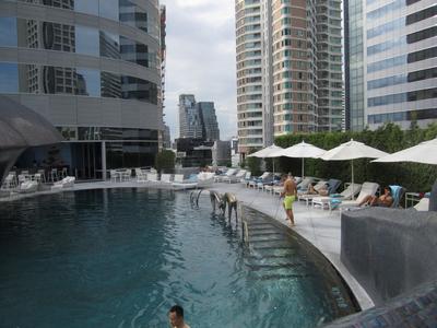Pool time at the W Bangkok.