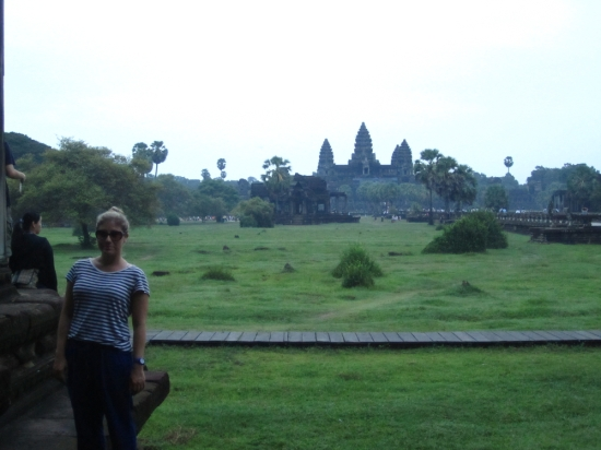 The so-called sunrise at Angkor