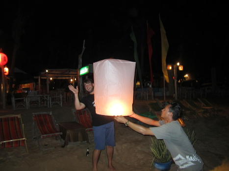 A quick lantern wave
