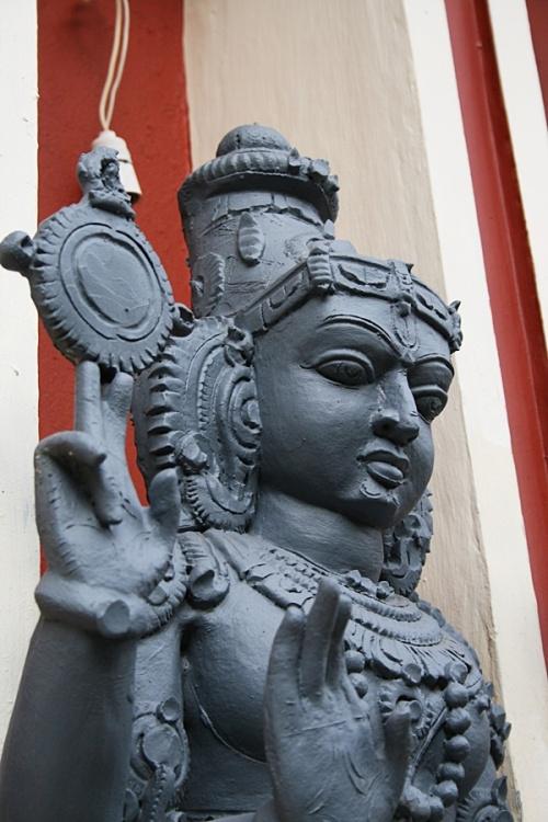A Hindu God