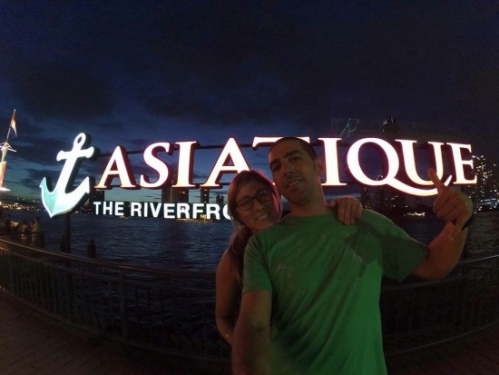 Love (and intense humidity) is in the air at Asiatique