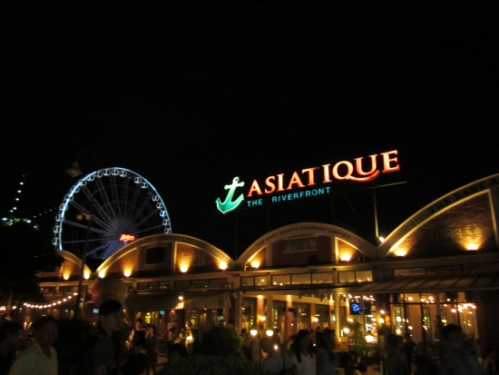 A little Asiatique action