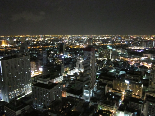 View of Bangkok from Cloud 47
