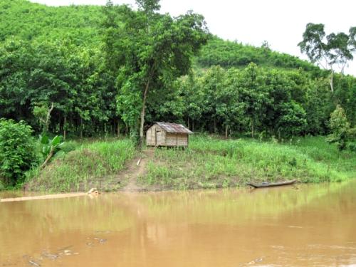 A village hut