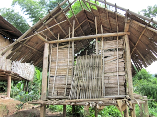 A typical Khmu house