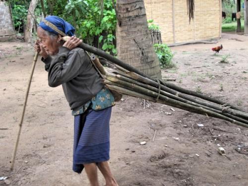 A Khmu villager
