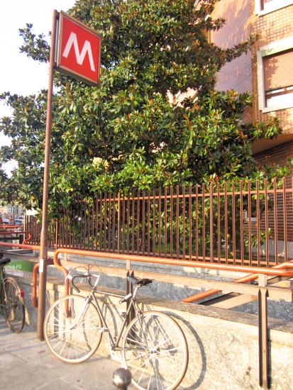Metro and bike