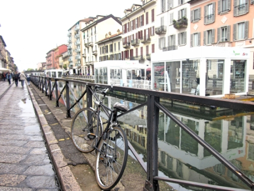Bike along the canal