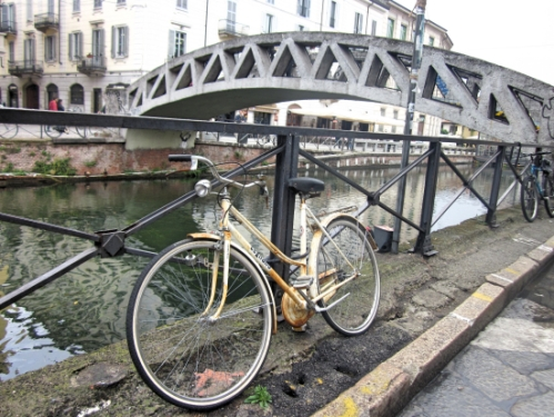 Bike and bridge