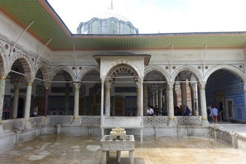 The Sultan's Chambers and gardens.