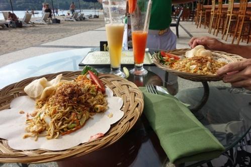 Indonesia delicacies.