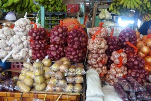 Onions galore.